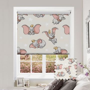 Dumbo Roller Blind Patterned Disney Blackout Fabric